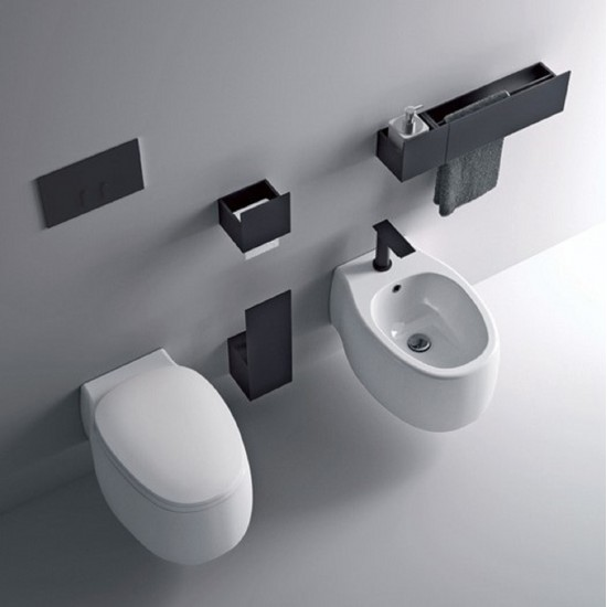 AGAPE PEAR 2 WALL HUNG WC