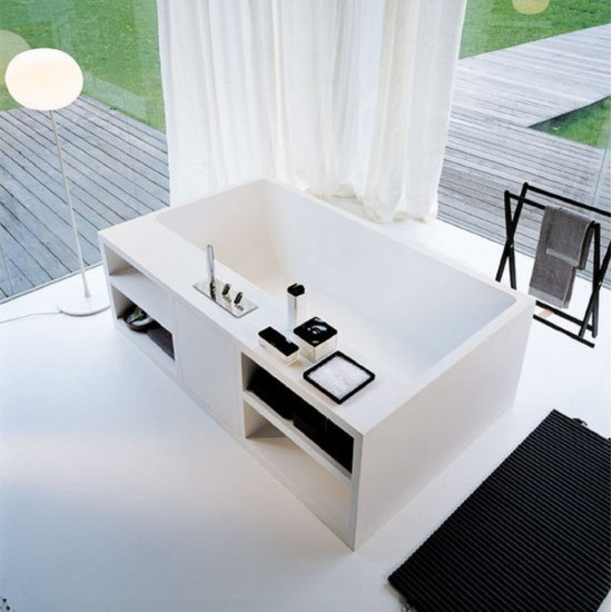 AGAPE CARTESIO FREESTANDING BATHTUB