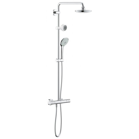GROHE Euphoria System 180 with thermostat for wall mounting