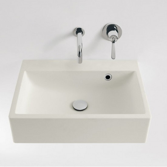 AGAPE BLOCK WALL MOUNTED WASHBASIN