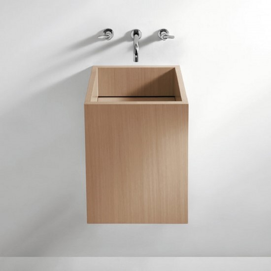 AGAPE CUBE WALL MOUNTED WASHBASIN
