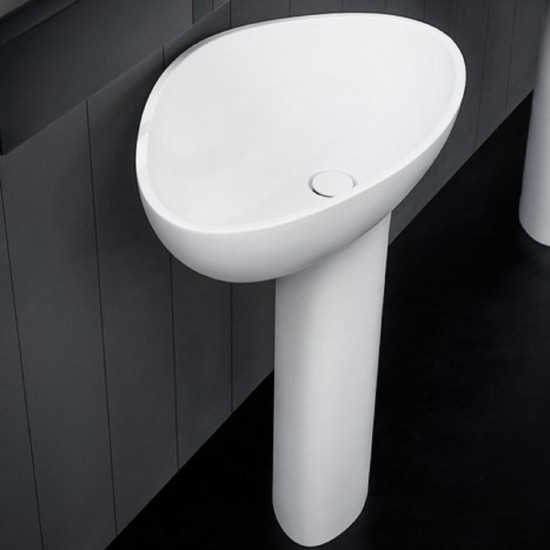 AGAPE LAVABO DROP FREESTANDING