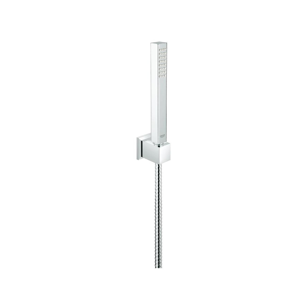 GROHE Euphoria CUBE Stick /& Hose /& Wall Holder Connector Shower Set