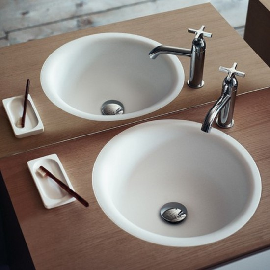 AGAPE IN OUT BUILT IN WASHBASIN