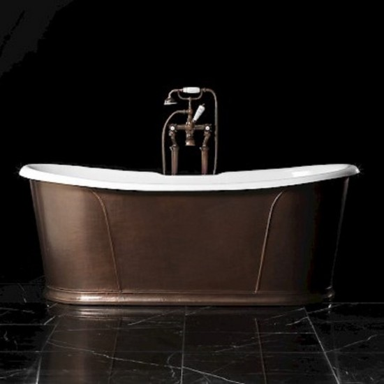 DEVON & DEVON CAMELOT RAME ANTICO BATHTUB