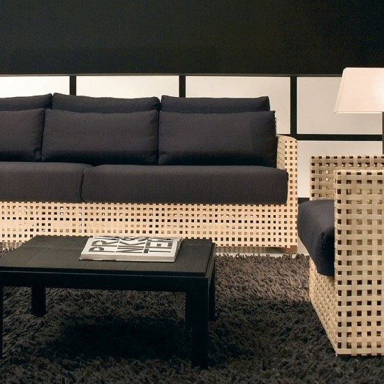 GERVASONI WK SOFA THREE SEAT