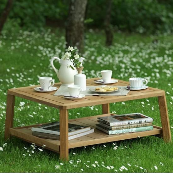 ETHIMO PETIT CLUB RECTANGULAR COFFEE TABLE