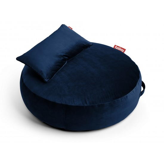 FATBOY PUPILLOW VELVET DARK BLUE