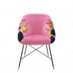 SELETTI TOILETPAPER LIPSTICKS PINK CHAIR