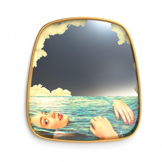 SELETTI TOILETPAPER SEA GIRL MIRROR