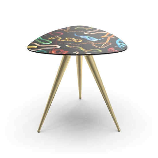 SELETTI TOILETPAPER SNAKES SIDE TABLE