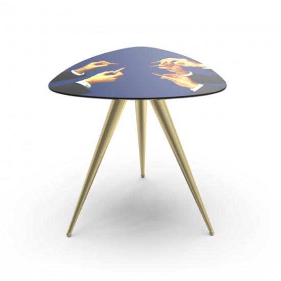 SELETTI TOILETPAPER LIPSTICKS SIDE TABLE