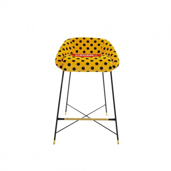 SELETTI TOILETPAPER SHIT HIGH STOOL