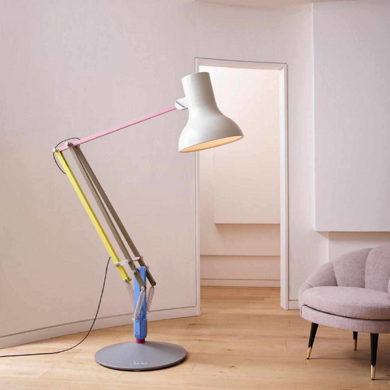 Anglepoise Type 75 Giant Paul Smith Floor Lamp Tattahome