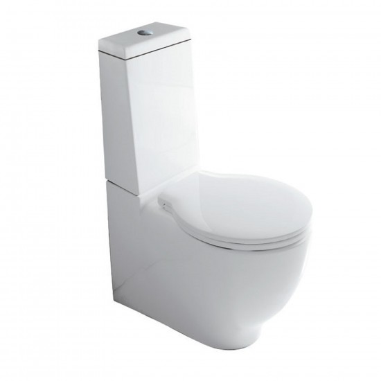 GALASSIA ERGO CLOSE-COUPLED WC