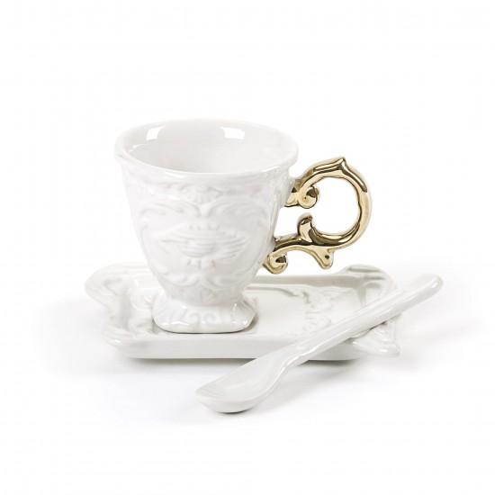 SELETTI I-WARES GOLD I-COFFEE