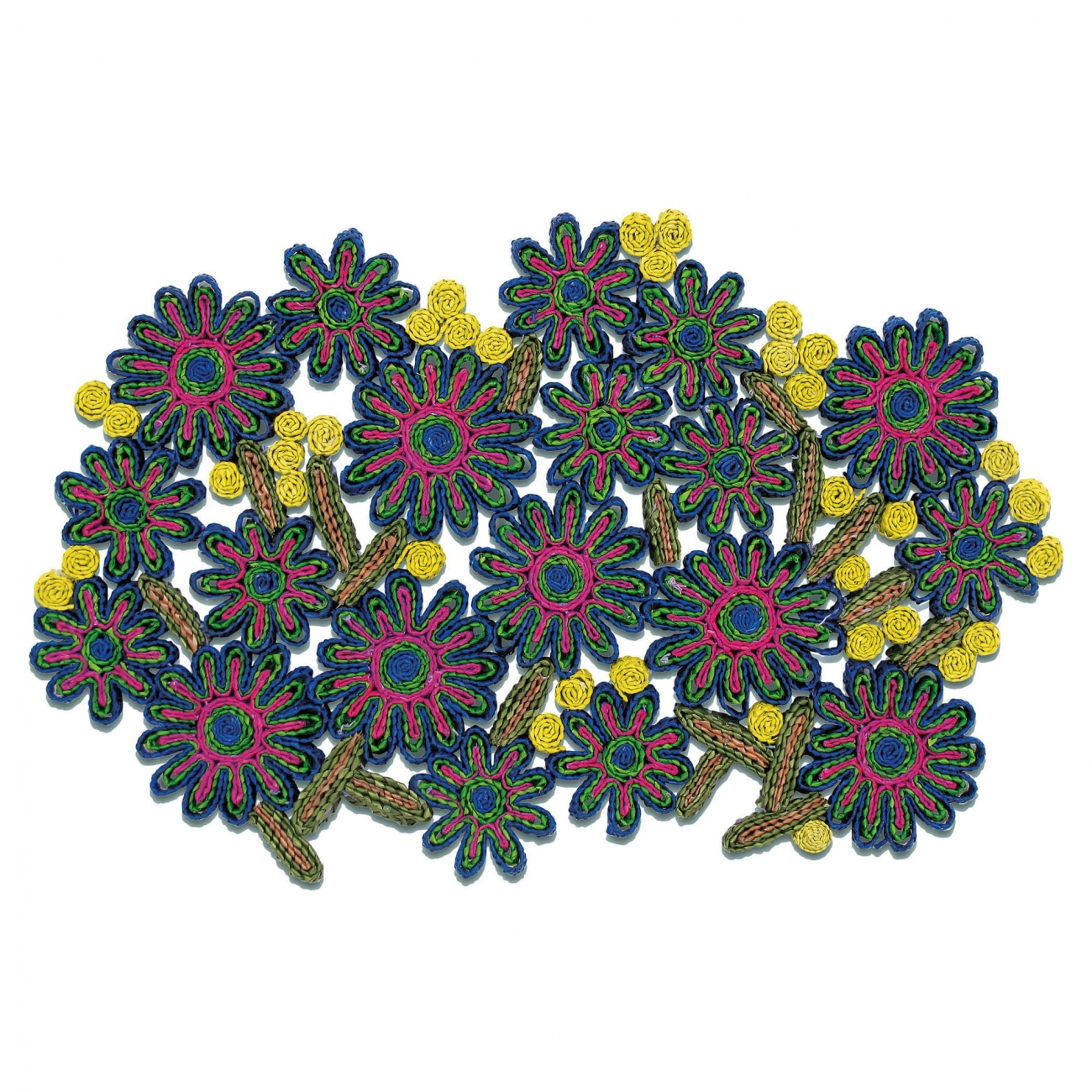 SELETTI FLORIGRAPHIE PASSIFLORA TABLE MAT
