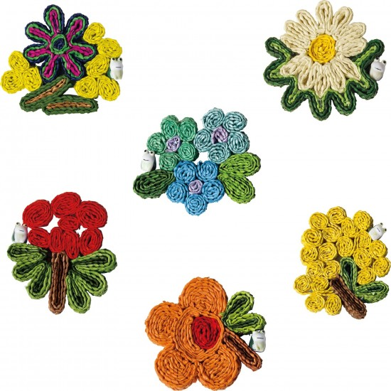 SELETTI FLORIGRAPHIE CUP COASTERS