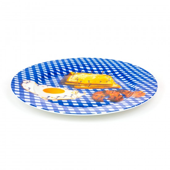 SELETTI TOILETPAPER PORCELAIN PLATES