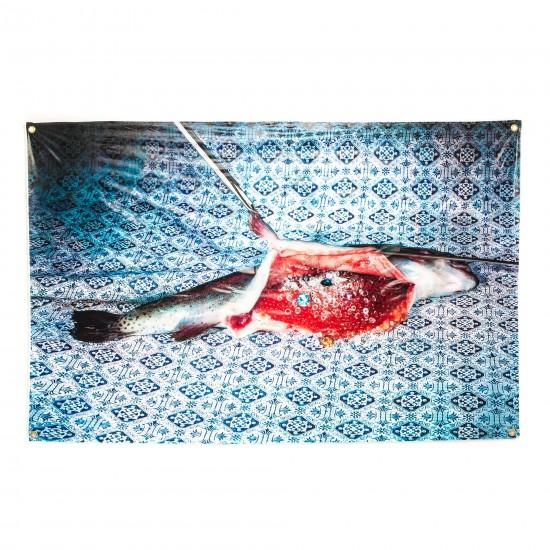 SELETTI TOILETPAPER TABLECLOTH FISH