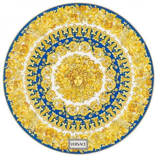 Rosenthal Versace Medusa Rhapsody Blue Service Plate