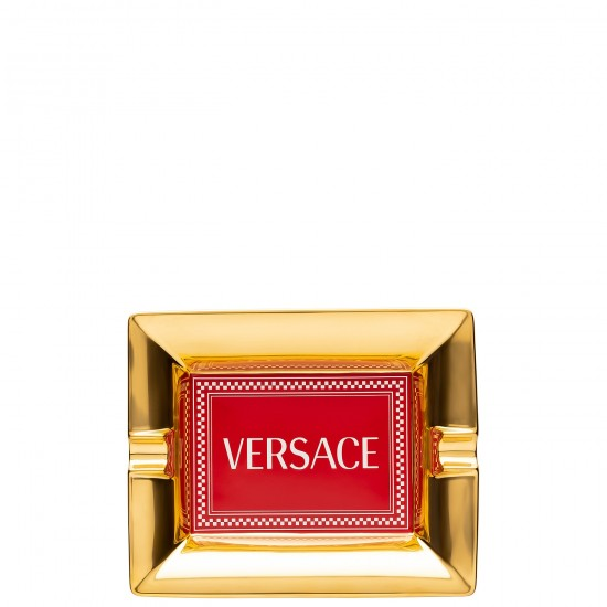 Rosenthal Versace Medusa Rhapsody Red Ashtray