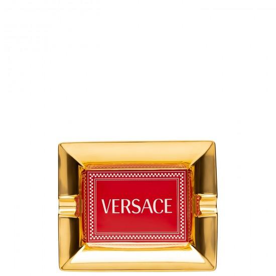 Rosenthal Versace Medusa Rhapsody Red Posacenere