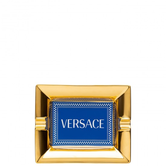 Rosenthal Versace Medusa Rhapsody Blue Posacenere