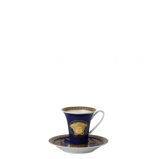 Rosenthal Versace Medusa Blue Tazza Alta
