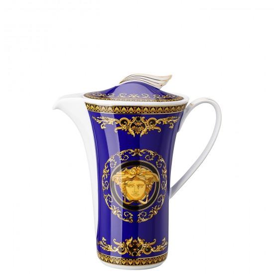 Rosenthal Versace Medusa Blue Coffee Pot