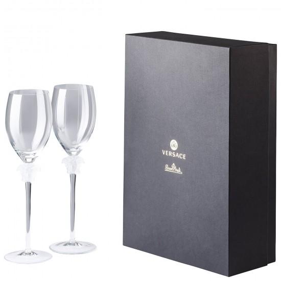 Rosenthal Versace Medusa Lumière White Wine Goblet