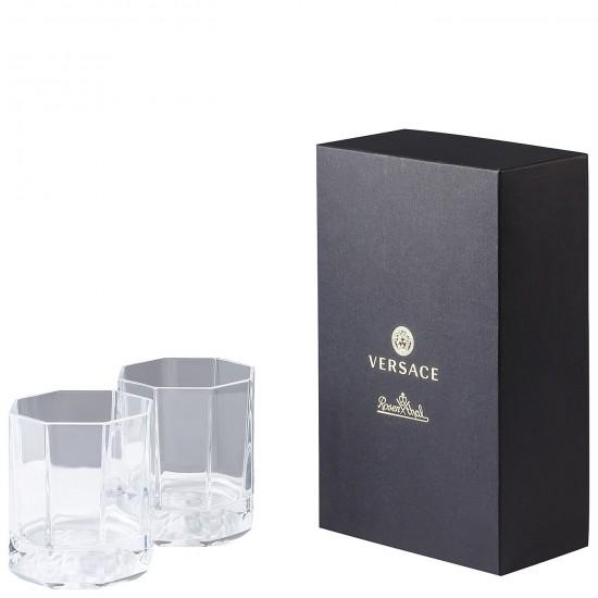 Rosenthal Versace Medusa Lumière Whisky Glass
