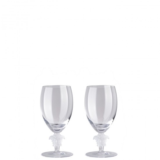 Rosenthal Versace Medusa Lumière Second Edition White Wine Goblet