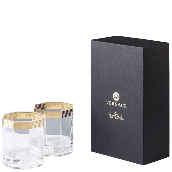 Rosenthal Versace Medusa D'Or Bicchiere Whisky