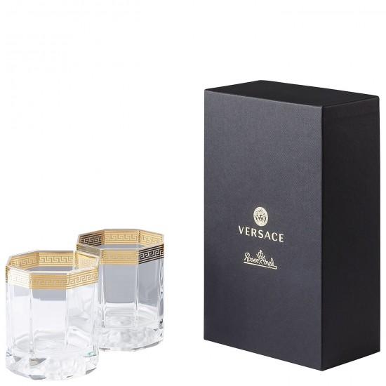 Rosenthal Versace Medusa D'Or Whisky Glass
