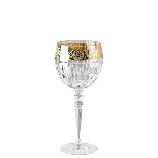 Rosenthal Versace Gala Prestige Medusa Clear Water Goblet