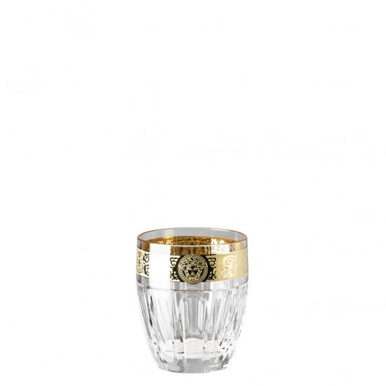 Rosenthal Versace Gala Prestige Medusa Clear Whisky Glass