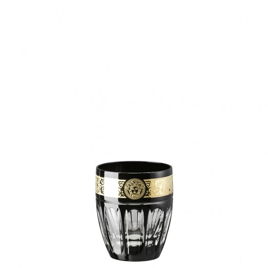 Rosenthal Versace Gala Prestige Medusa Black Whisky Glass