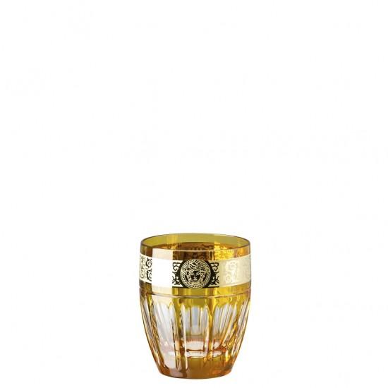 Rosenthal Versace Gala Prestige Medusa Amber Whisky Glass