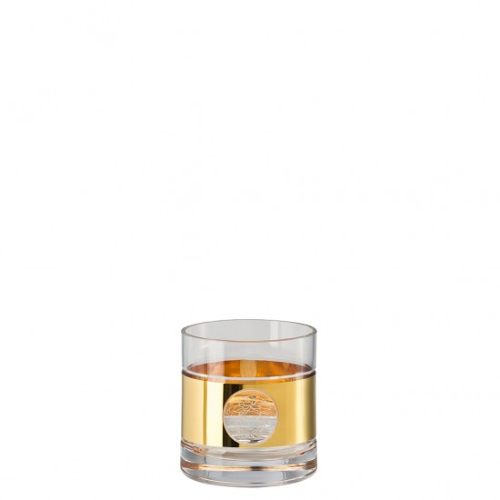 Rosenthal Versace Medusa Madness Oro Double Whisky Old Fashioned