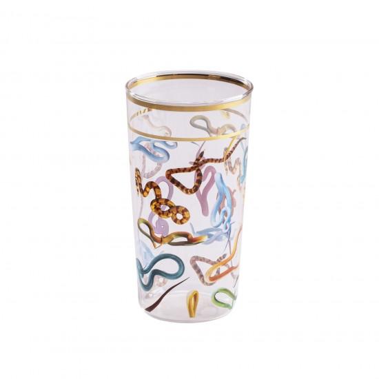 Seletti Toiletpaper Snakes Glass