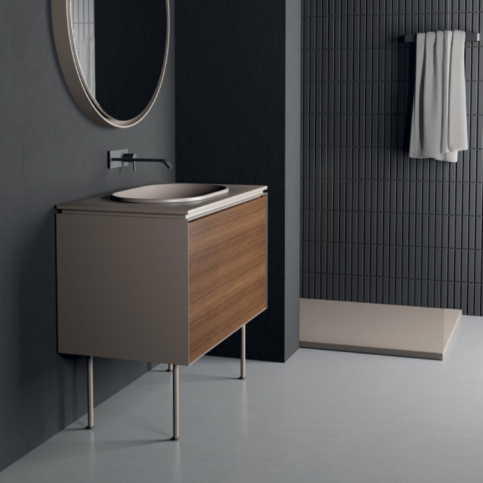 Nic Design Lama 90 Bathroom Cabinet Tattahome