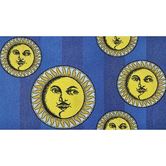 Bisazza Fornasetti Soli a Capri Blue Mosaico
