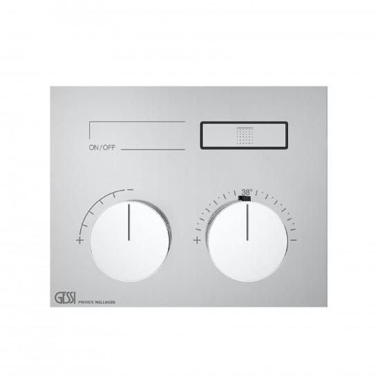 Gessi Hi-Fi Compact Thermostatic Mixer 63002