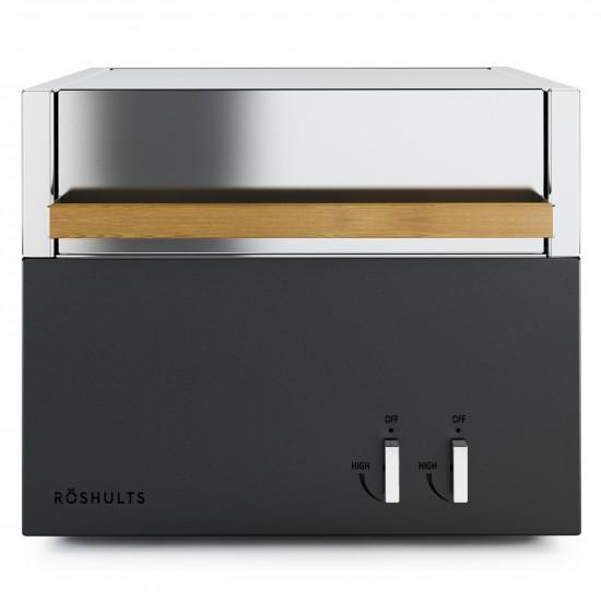 Roshults Modulo Gas Grill X EU Antracite / Acciaio Inox
