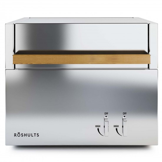 Roshults Modulo Gas Grill X EU Brushed Stainless Steel