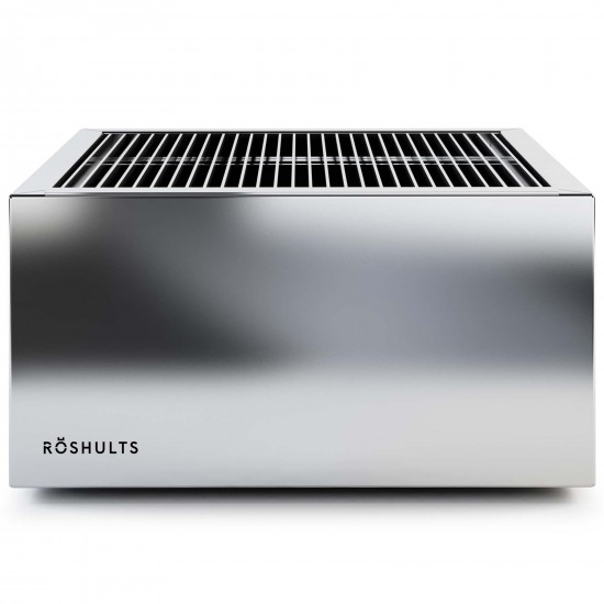 Röshults Module Charcoal Grill X Brushed Stainless Steel