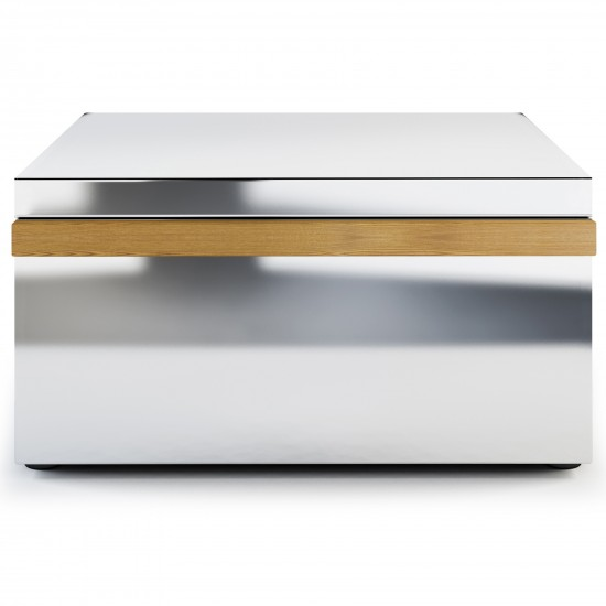 Röshults Module Drawer X Brushed Stainless Steel