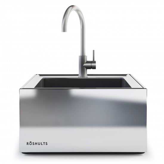 Röshults Module Kitchen Sink X Brushed Stainless Steel