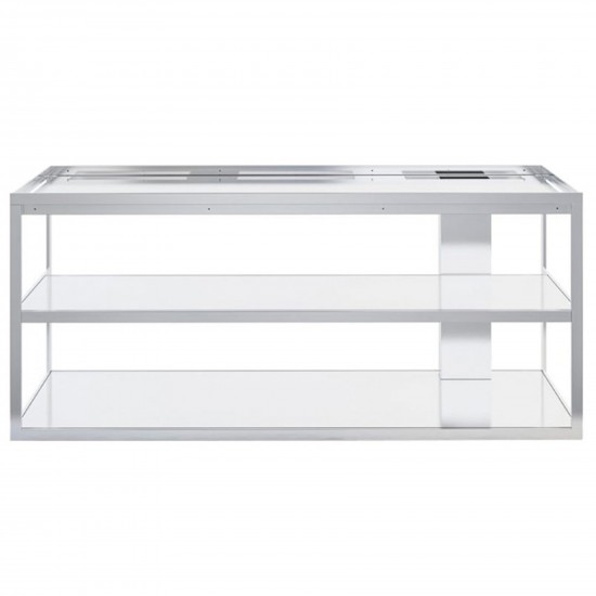 Röshults Open Kitchen Frame 150 Brushed Stainless Steel